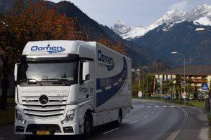 Verhuiswagen in Oostenrijk