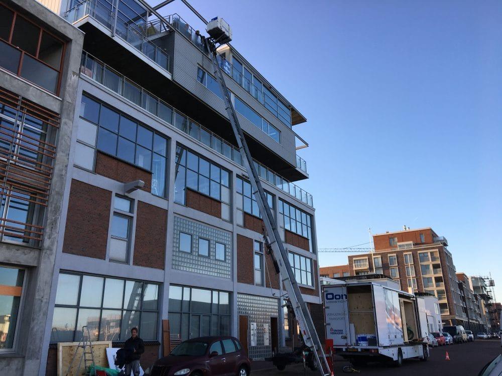 Verhuislift in Leiden