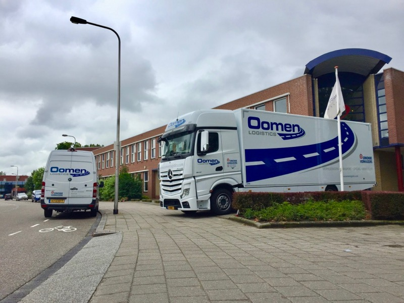 Verhuiswagen in Sassenheim