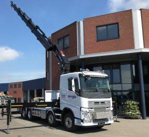Volvo autolaadkraan 65 t/m