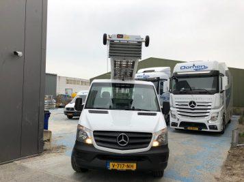 Mercedes verhuislift