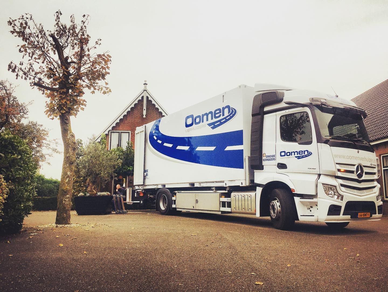 Verhuizen in of naar Rotterdam