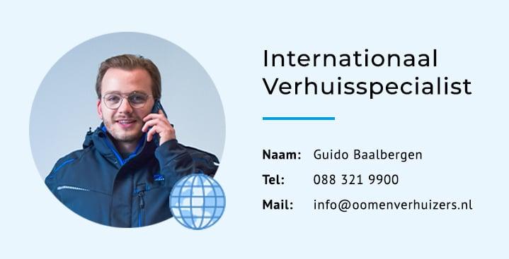 Uw internationale verhuisspecialist