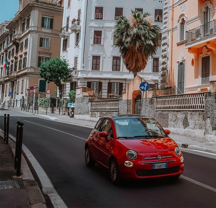 Auto mee verhuizen naar Italië